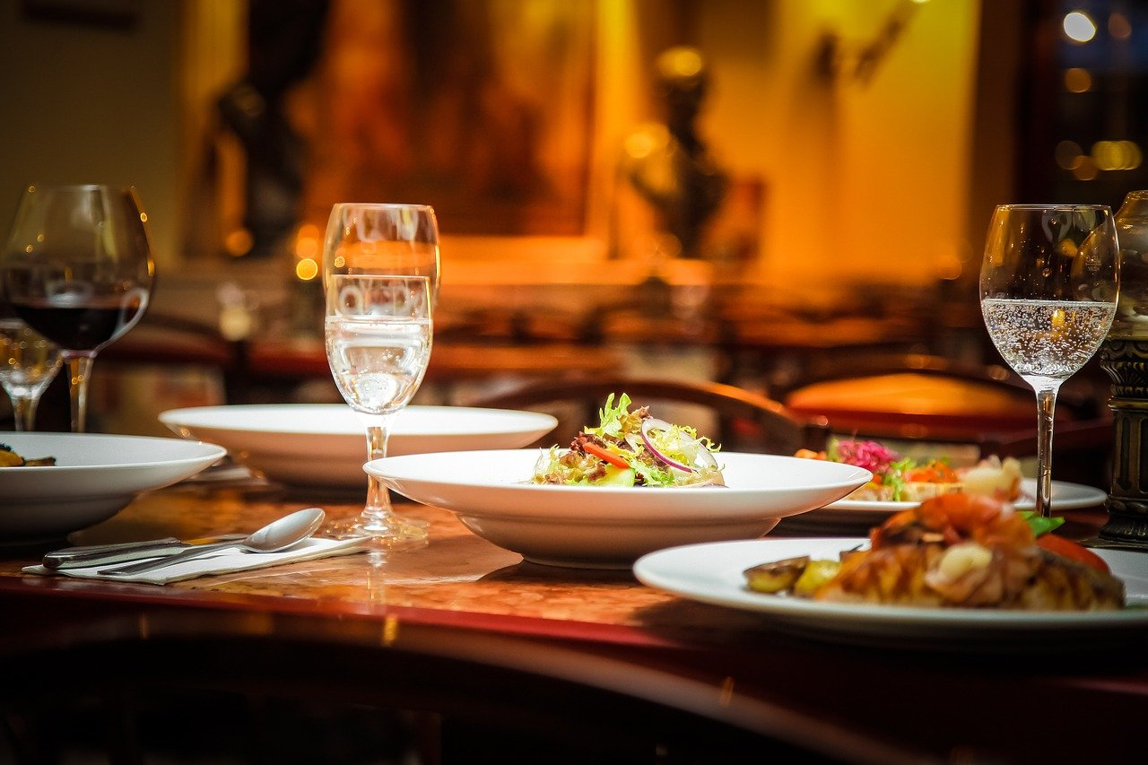 abendbrot, restaurant, salad